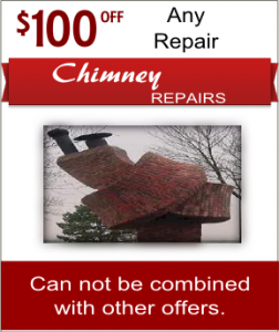 Fireplace and chimney repair coupon