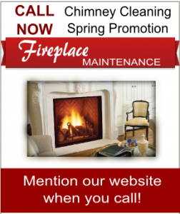 Fireplace and Chimney cleaning coupon