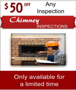 Fireplace and chimney inspection coupon